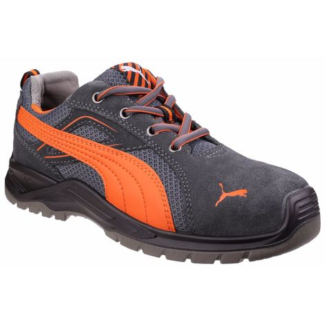 Puma Safety Mens Omni Flash Low Lace Up Safety Trainer