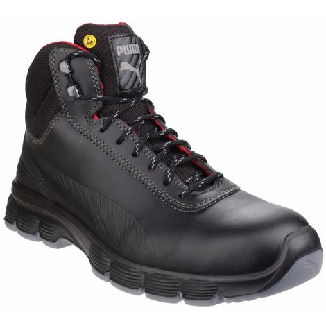 Puma Safety Mens Pioneer Mid Lace Up Safety Boot