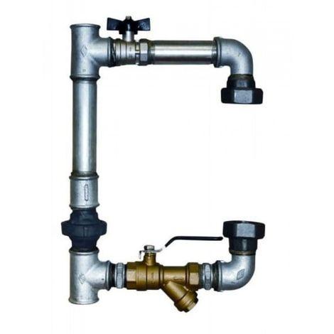 Pump bypass vertical pump 2 '' dn50 bypass