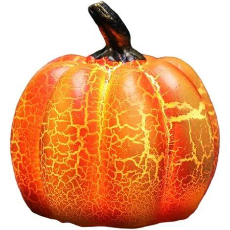 """main image of """"Pumpkin Lantern Halloween Resin Pumpkin Lamp Led Battery Powered Round Pumpkin Pumpkin Lanterns Decor"""""""