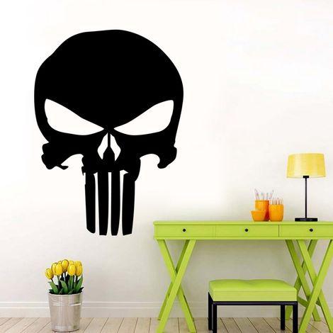 Punisher Skull Film Autocollants de voiture classiques Stickers moto