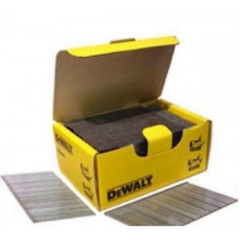 Puntas Brad 1.25mm x 20mm 18GA galvanizados - DEWALT - Ref: DNBT1820GZ Envase de : 5000 unidades
