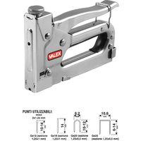 Puntatrice chiodatrice spillatrice graffettatrice universale manuale 41 valex