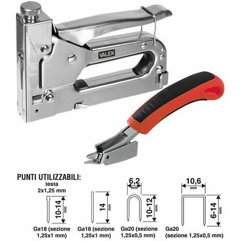 spillatrice fissatrice manuale Ro-ma tecnica 8 in abs puntatrice graffette
