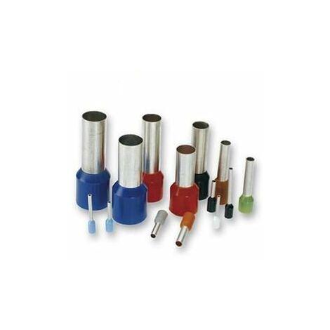 Punteras huecas cable flexible 6mm [100ud]