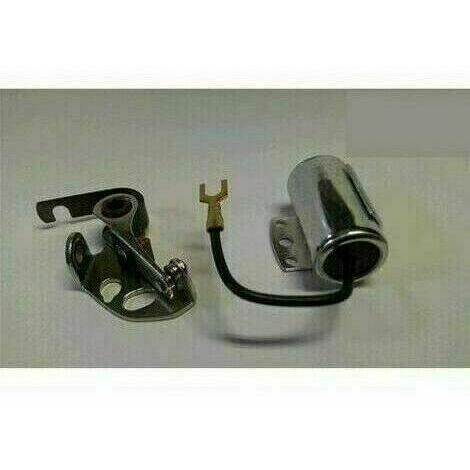 Puntine Platinate + Condensatore Per Motore Acme Al 65-70-75-480-Vt 88 - Fe 82