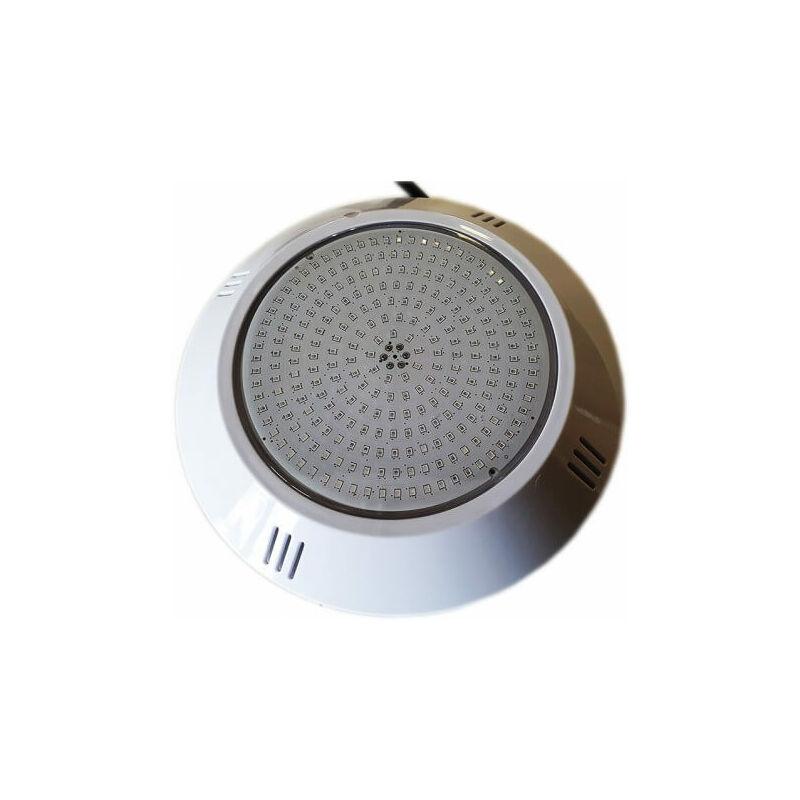 Proyector LED estanco blanco extraplano con resina inyectada para piscina 252 LED