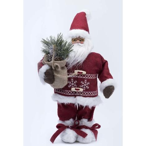 Pupazzo Di Babbo Natale In Stoffa