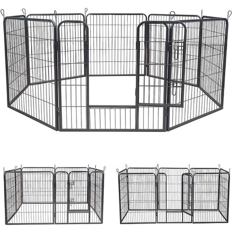 puppies run out enclosure free dogs lattice animal stable barrier lattice puppy
