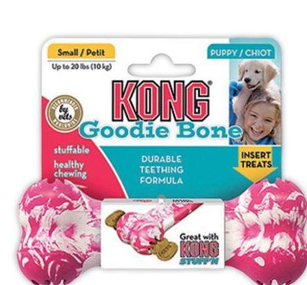 Puppy goodie bone avec corde 86 g (chiot de moins de 2kg) 8 cm