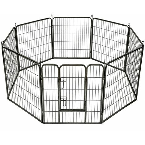 Puppy playpen 8 corners - dog pen, dog playpen, puppy pen