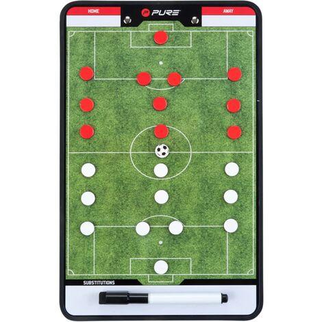 Pure2Improve Double-sided Coach Board Football 35x22 cm P2I100680
