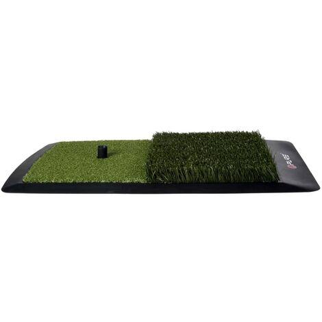 Pure2Improve Golf Hitting Mat 60x31x6.5 cm P2I641690 - Multicolour