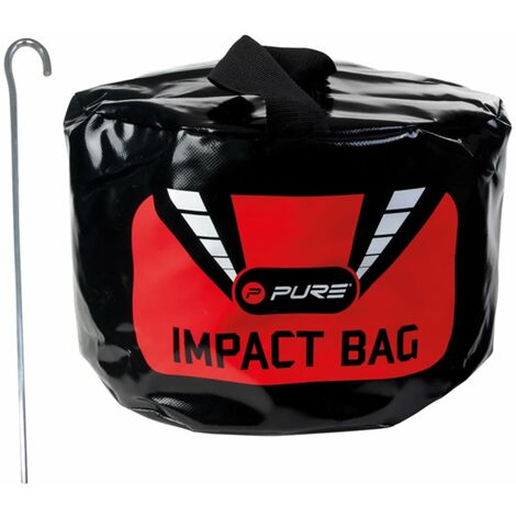 Pure2Improve Golf Impact Bag Black 23x8x25 cm P2I190020 - Black