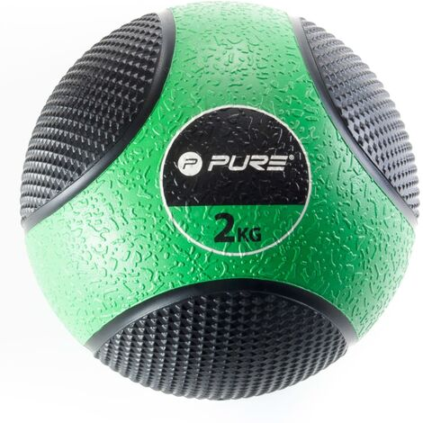 Pure2Improve Medicine Ball 2 kg Green