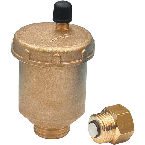 "purgador de circuito automático MG3/8"" con válvula de aislamiento"