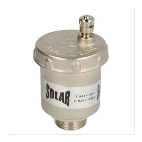 Purgeur d'air automatique Solar M1/2'', max 200°C et 10 bar