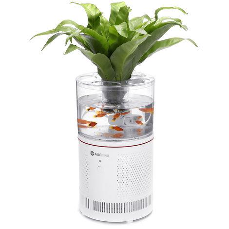 Purificador de aire de escritorio HEPA + filtro de acuario 【120m3 / h】 PM2.5 alergeno de humo