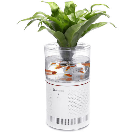 Purificador de aire de escritorio HEPA + filtro de acuario 【120m3 / h】 PM2.5 alergeno de humo Sasicare