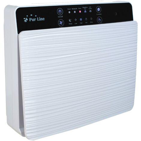 Purificador de Aire filtro HEPA, filtro de Carbón Activo, e Ionizador para superficies de 15 m² FRESH AIR 30