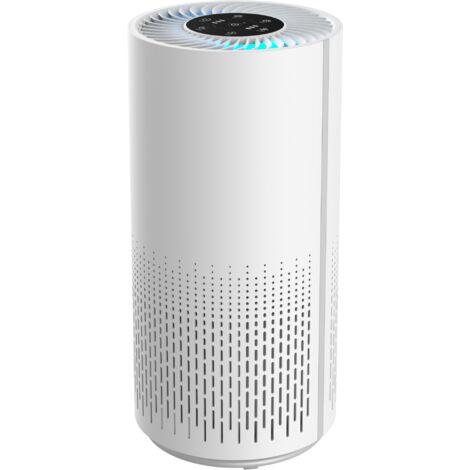 Purificateur d'air avec filtre HEPA silencieux OAKLAND Elimine 99.97% de Pollen, Fumée, Poussière, Poils d'animaux, allergènes, avec Sept Couleurs