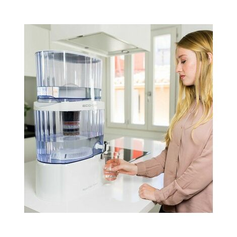 "Purificateur d'eau de 24 litres ECO-DE® ""Aqua Filter Tower"""