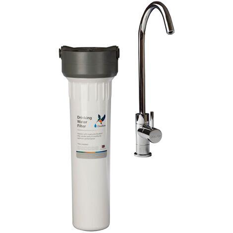 Purificateur d'eau Doulton hip sous évier avec cartouche ultracarb et robinet eau pure