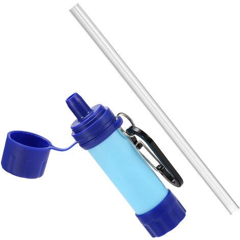 Purificateur d'eau ext¨¦rieur de syst¨¨me de filtration d'eau de paille d'eau pour le camping d'urgence voyageant la randonn¨¦e