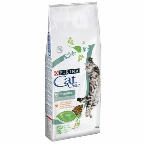 Purina Cat Chow Chat Adulte Stérilisé Poulet, 3 kg