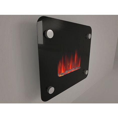 PURLINE - PIXIE_M5R - Chauffage - Insert électrique chauffant 900/1800 w, soufflant Purline-Flammes virtuelles