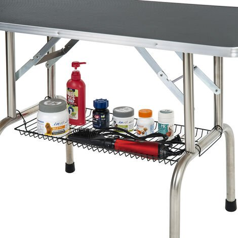 PURLOVE pet dog grooming table drying table trim table height adjustable for small or medium dogs B2B02213_DE