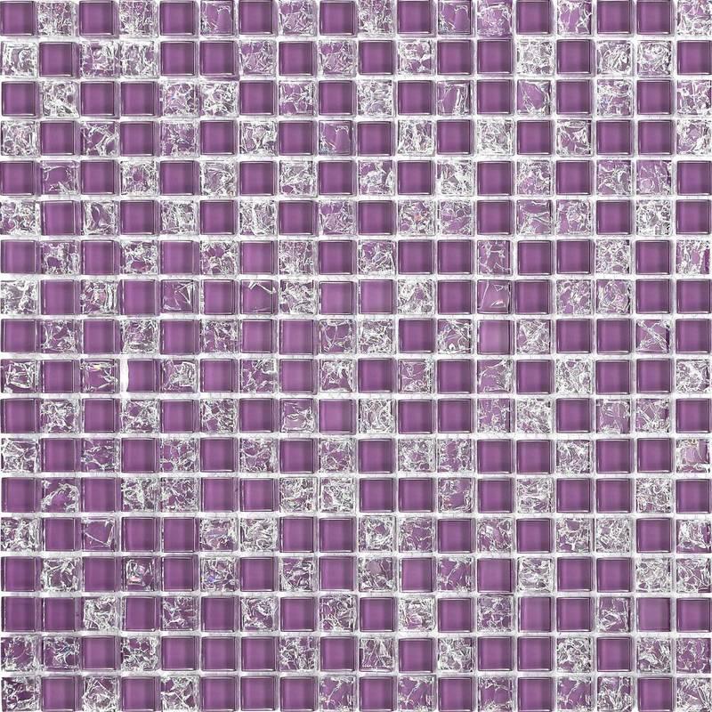 Plain Mix Gl Mosaic Wall Tiles