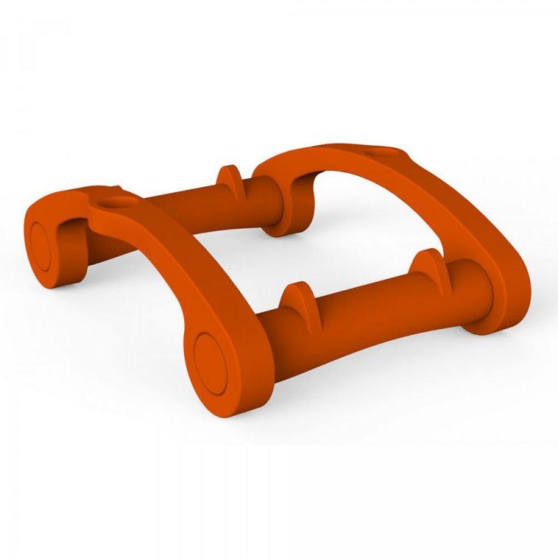 Support d'accoudoir flottant Orange cm 54x94x58 CV-S930/2009 - Arkema Design-prodotto Made In Italy