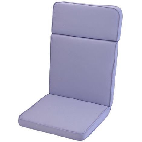 Purple Heather High Recliner Cushion Outdoor Garden Furniture Cushion