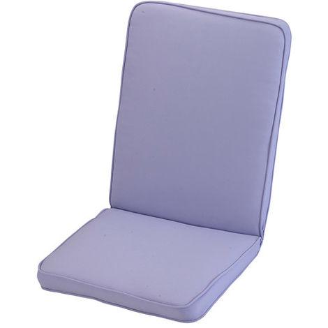 Purple Heather Low Recliner Cushion Outdoor Garden Furniture Cushion