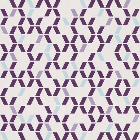 Purple Teal White Geometric Wallpaper Retro Lightly Textured Luxury Decor Rasch
