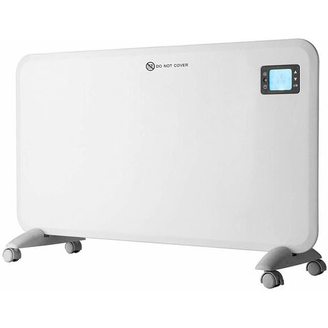Purus Panel Heater Intelligent 24 Hour 7 Day Timer Bathroom Safe 400W - 2000W, Lot 20 Flat Wall Mounted Low Energy Electric Heater for home Slimline Electric Radiator Efficient thermostat (2000W)