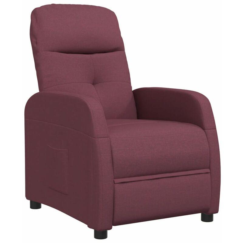 Relaxsessel Lila Stoff - VIDAXL