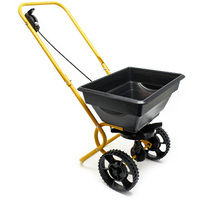 Push Broadcast Spreader 20 kg with plastic wheels