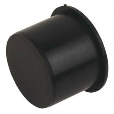 Push-Fit Socket Plug 40mm Black