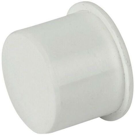 Push-Fit Socket Plug 40mm White