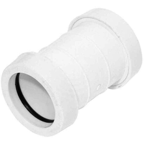 Push-Fit Straight Coupling 32mm White