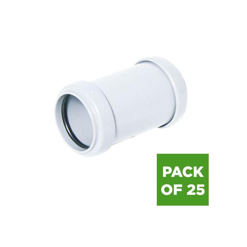 Bag of 2 FLOPLAST MDPE 25mm Coupling