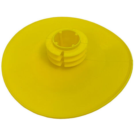 Push In Full Face Flanged End Cap / Protector for for 100NB (114.3 mm OD) Pipe
