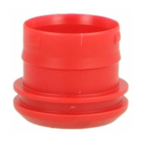 PushFit bouchon de protection 16 mm pour gaine de protection, rouge carmin