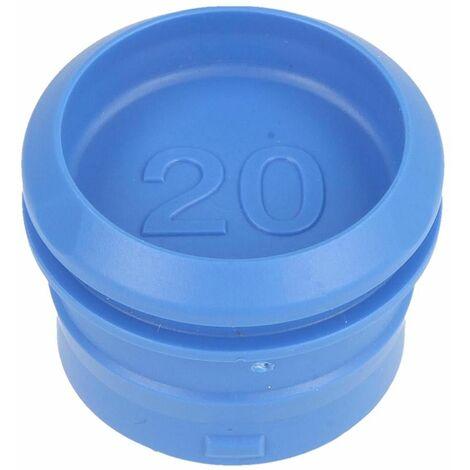 PushFit bouchon de protection 20 mm pour gaine de protection, bleu ciel