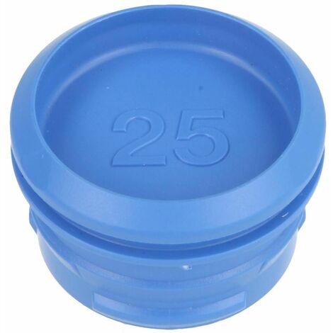 PushFit bouchon de protection 25 mm pour gaine de protection, bleu ciel