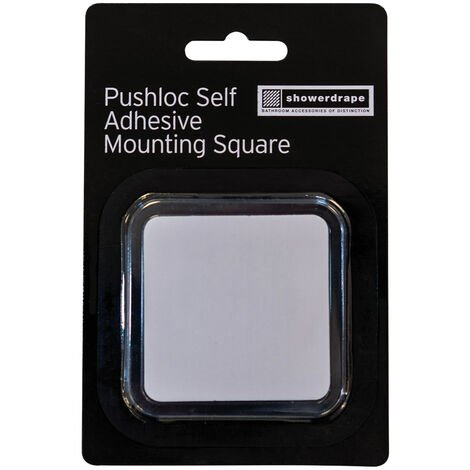 Pushloc Sa Mounting Square Clear