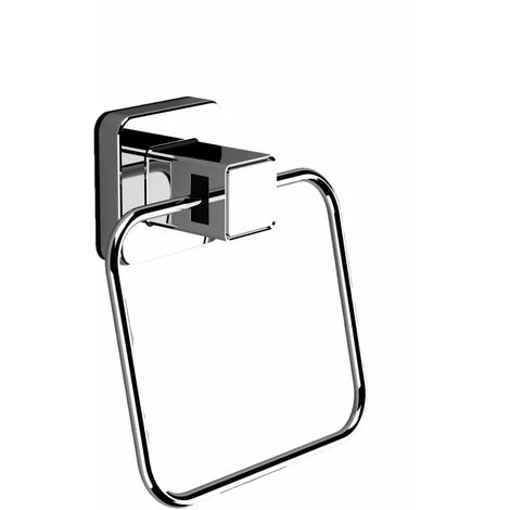 Pushloc Wall Mounted Suction Towel Ring