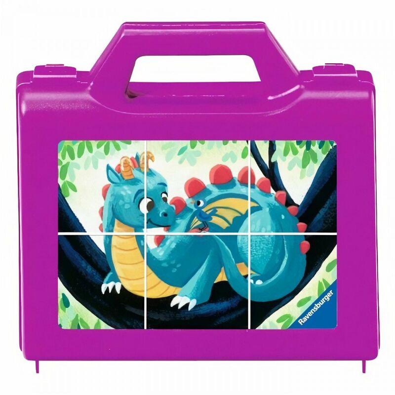 Puzzle 6 cubes - Les créatures fantastiques